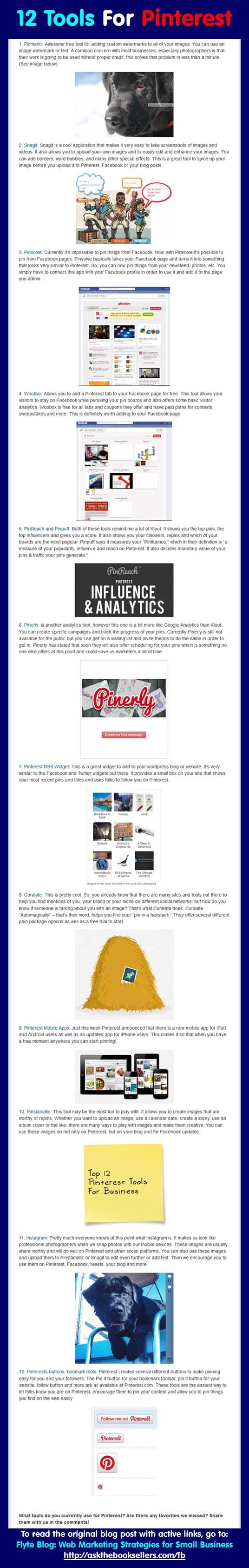 12 Pinterest Tools