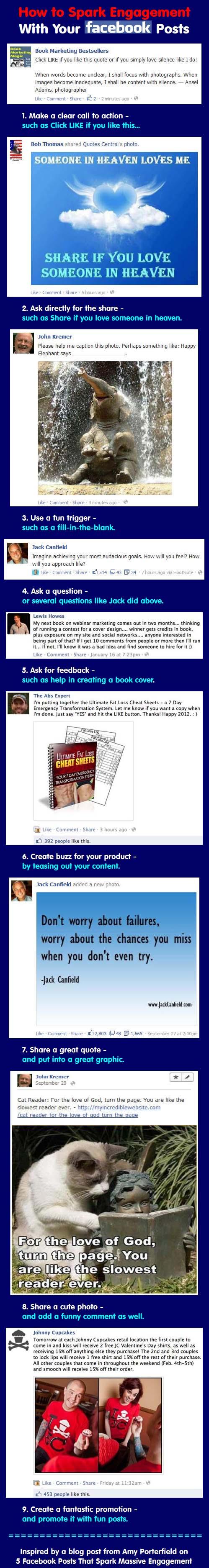 9 Facebook Posts