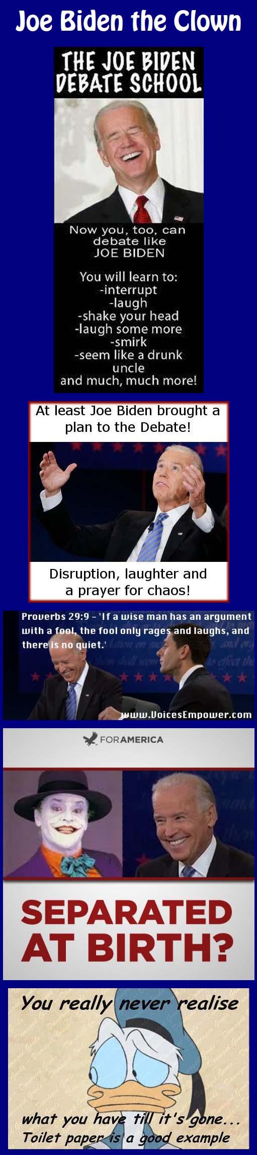 Joe Biden the Clown