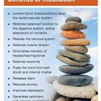 Infographic: The Benefits of Meditation