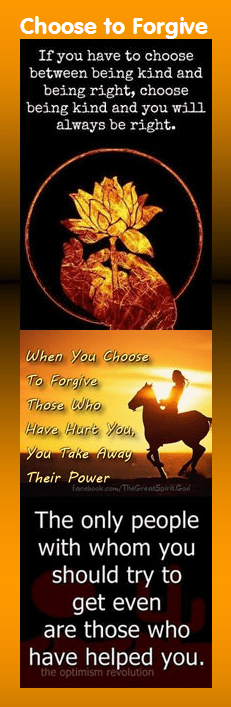 Motivational Bookmark: Choose to Forgive