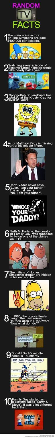 Random TV Facts