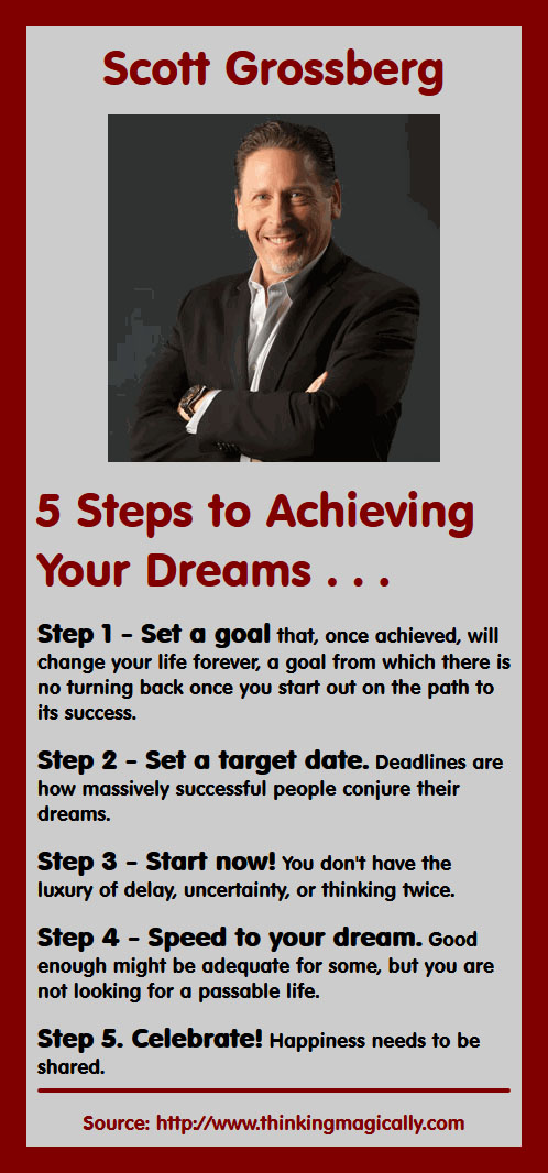 Scott Grossberg on Achieving Dreams