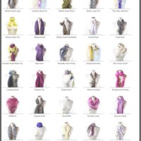 The Knot Library: 50 Ways to Tie a Scarf
