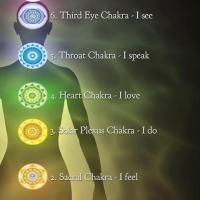 Infographic: Chakra Energy Center Locations and Meanings