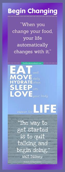motivational bookmark: start changing