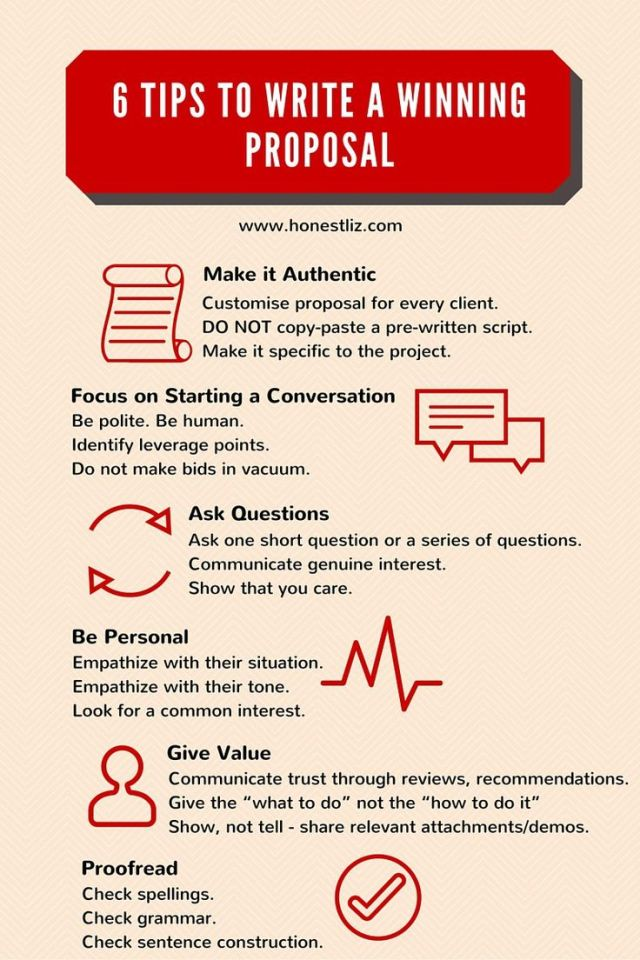 6 Tips To write A winning proposal
