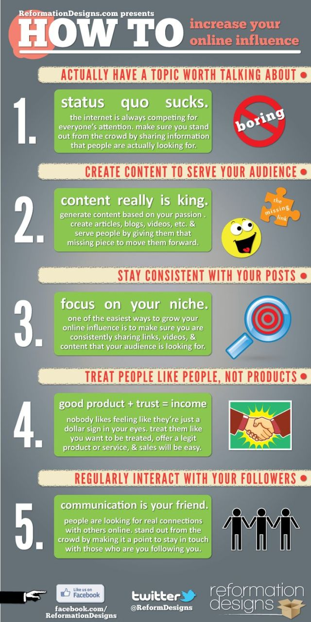 How To Increase Your Online Influence