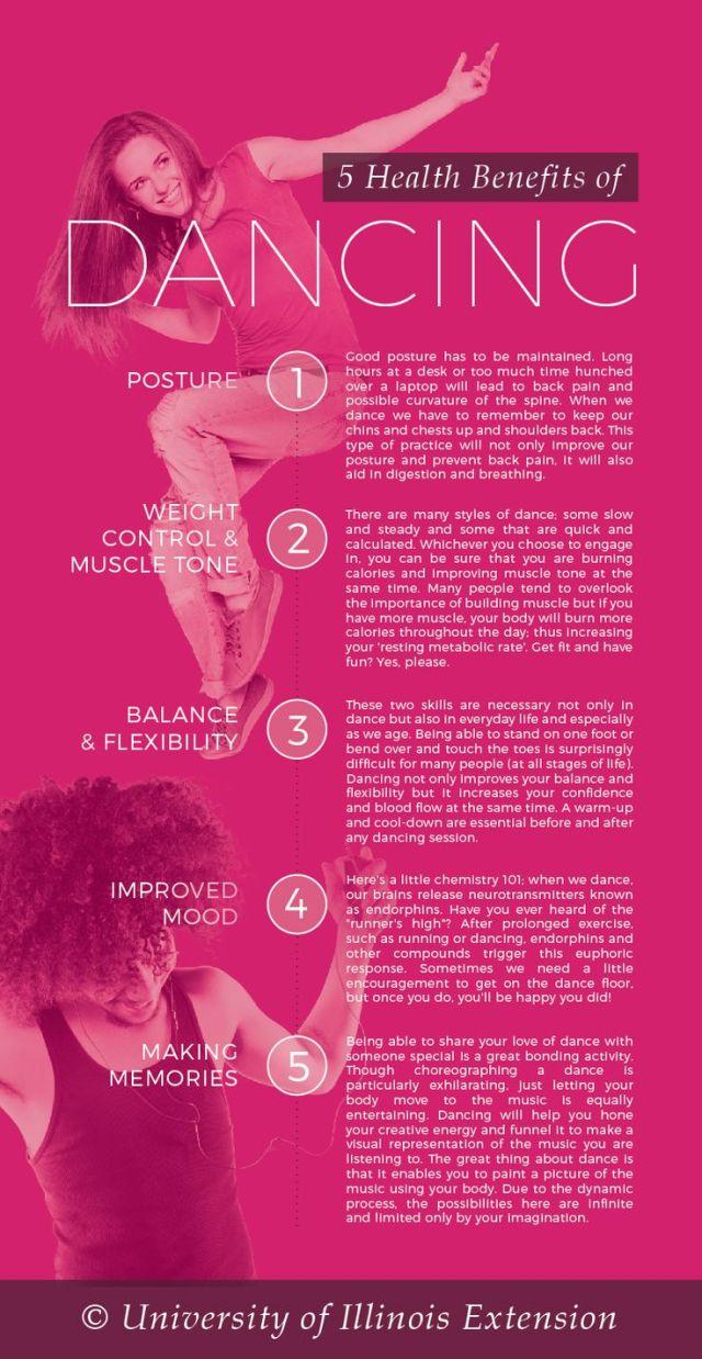 5 Health Benefit of Dancing