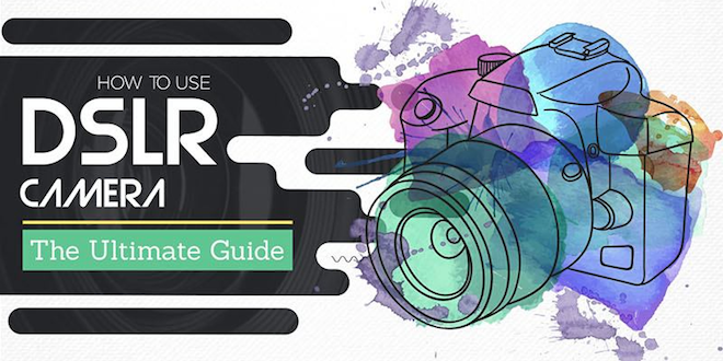 How to Use DSLR Camera Manually Beginners Guide #infographic