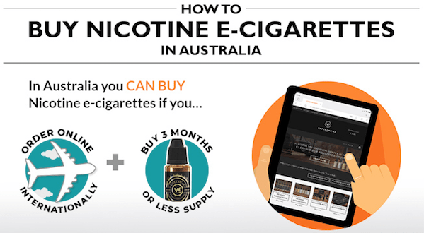 How To Buy Vape With Nic In Australia - Infographic List