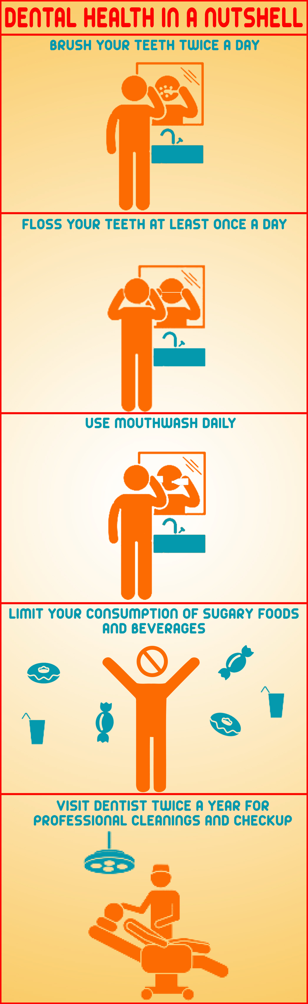 A Miami Dentist recommended steps to dental health.