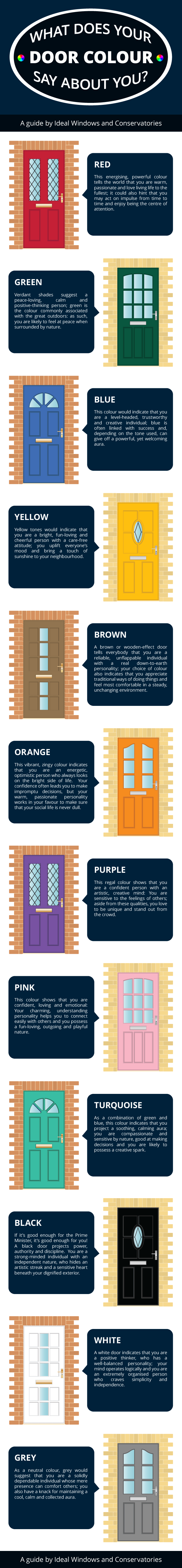 What Does Your Door Color Say About You