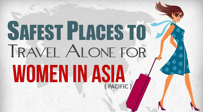 Safest places to Travel Alone for Women in Asia