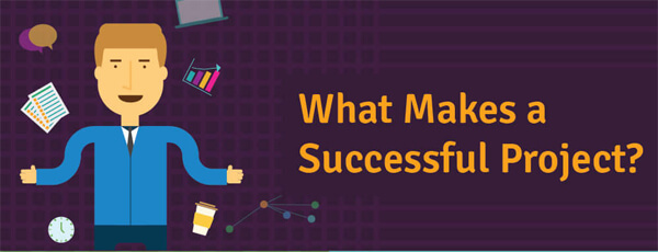 What Makes a Successful Project [INFOGRAPHIC] - Infographic Plaza