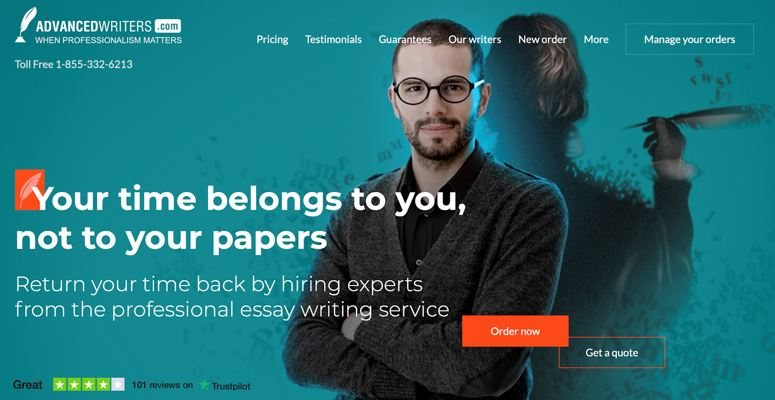 AdvancedWriters.com Review: Professional Essay Writing Company