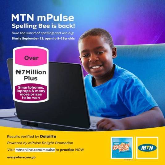 MTN MPulse Spelling Bee Competition 2021: Requirements and How to Apply
