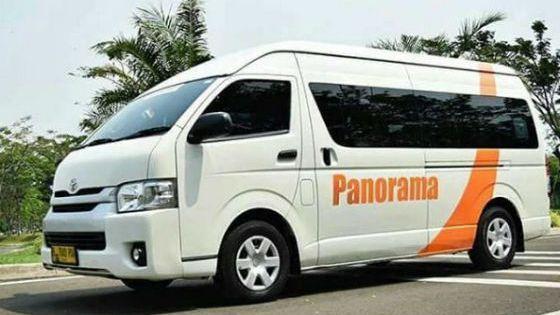 Sewa Bis Panorama di Bintaro