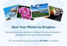Automatically upload media files to dropbox