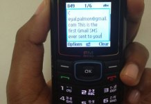 Send email as SMS offline