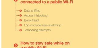 stay safe on public WiFi