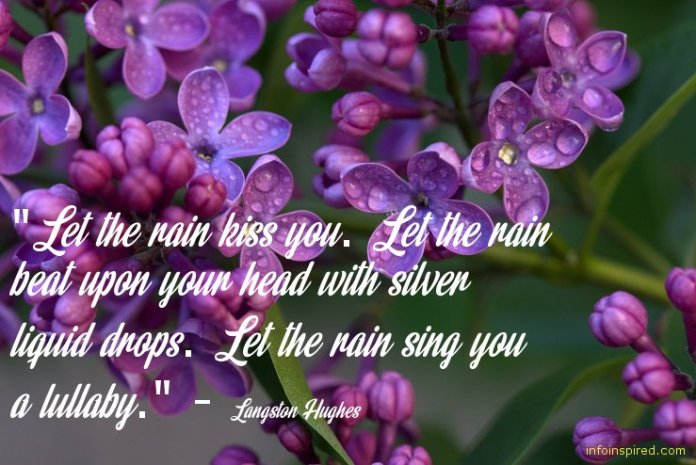 rain inspired love picture quotes