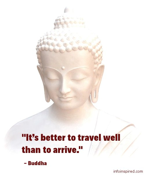 03 WhatsApp DP - IT'S BETTER TO TRAVEL WELL THAN TO ARRIVE