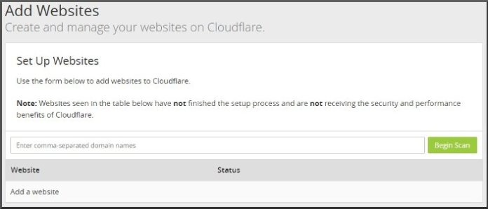 Add blog to CloudFlare