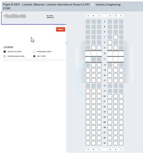 Cara-memilih-seat-tempat-duduk-pesawat