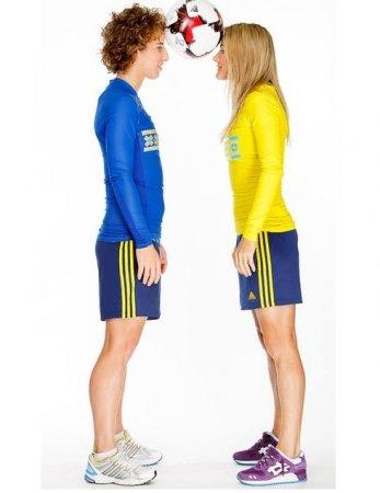 Женская сборная Украины по футболу во всей своей красе. ФОТО