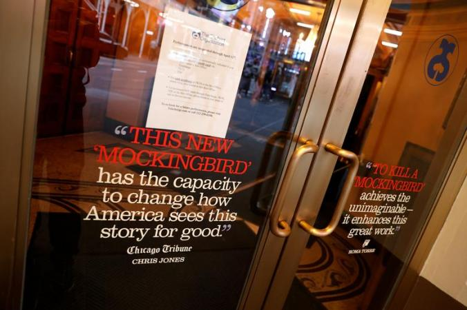 Broadway shows completely shut-down amidst pandemic.