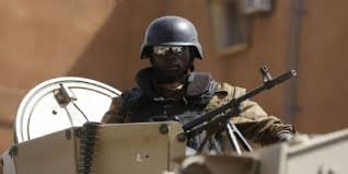 burkina military