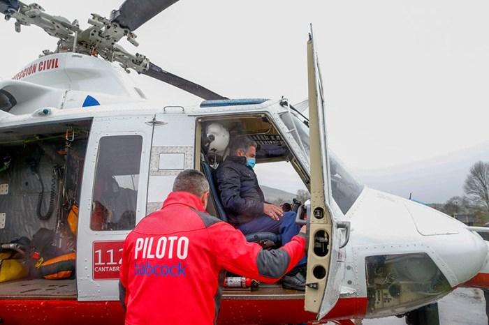 Cantabria incorpora un segundo helicóptero a los servicios de emergencia