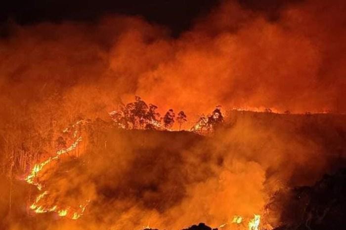 Vega de Liébana registra una de las situaciones de mayor riesgo provocadas por el fuego
