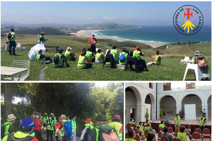 Cerca de un centenar de voluntarios participan en las jornadas de formación del proyecto 'Cuidadores de los Caminos'