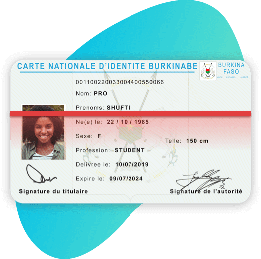 Burkina Faso National Identity Card