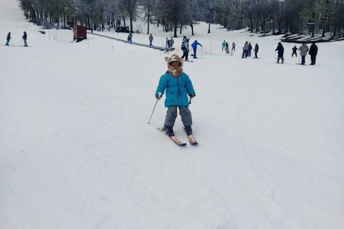 Los niños de la Toma Costanera, esquiaron en el Cerro Chapelco
