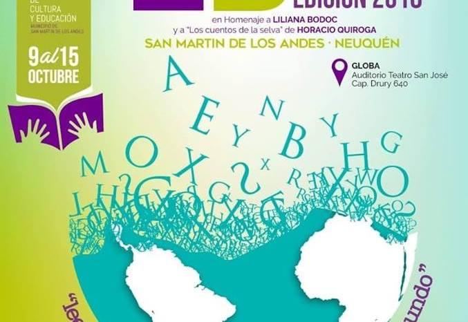 En unos días comienza la nueva edición de la feria del libro, en San Martín de los Andes.