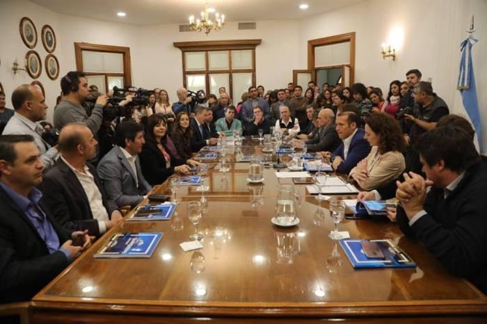 El gobernador Omar Gutiérrez, presento hoy el Plan Quinquenal 2019 - 2023