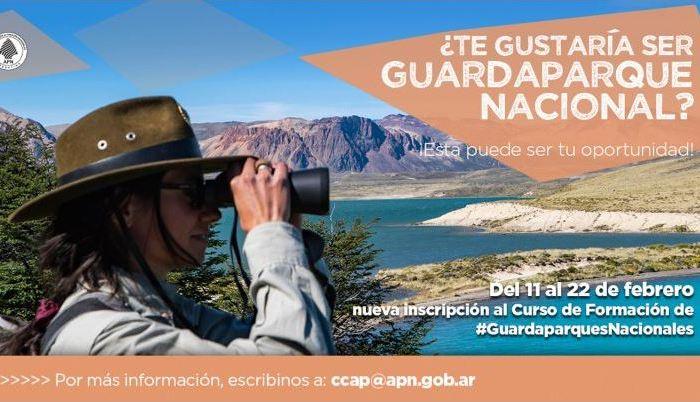 Se abre la inscripción al Curso de Guardaparques Nacionales 2019