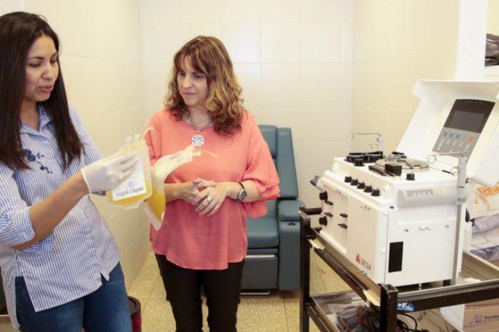 Incorporan tecnología en el Centro Regional de Hemoterapia