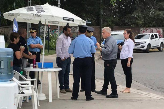 La subsecretaría de Seguridad inaugura puntos de prevención en espacios públicos
