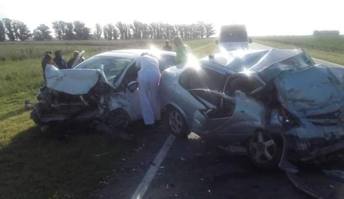 Rutas trágicas: 6 muertos en accidente vial sobre Ruta 228