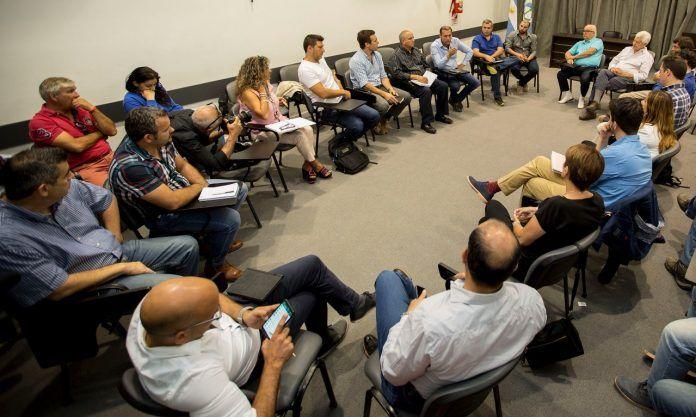 Empresarios de industrias petroleras y afines de Neuquén se reunieron con Gutiérrez