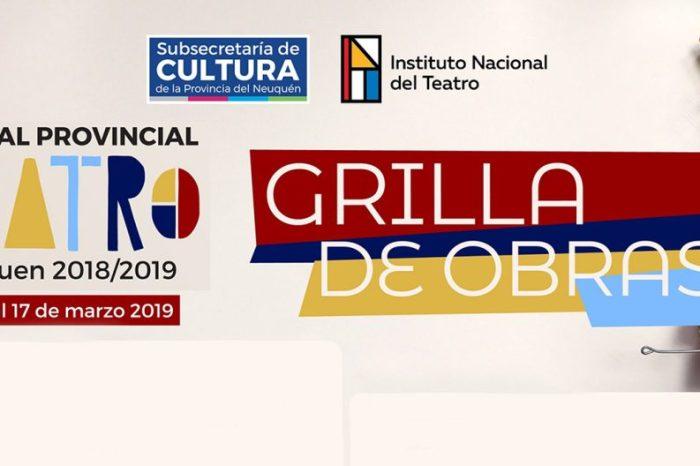 Se presenta mañana en Neuquén el Festival Provincial de Teatro