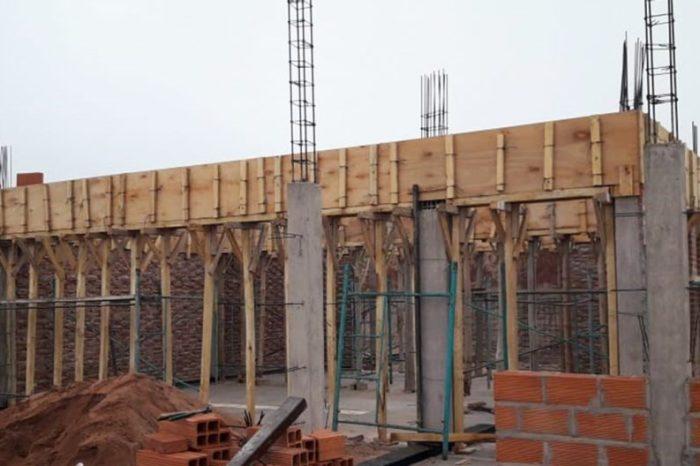 Avanza la construcción de la nueva comisaría en Rincón de los Sauces