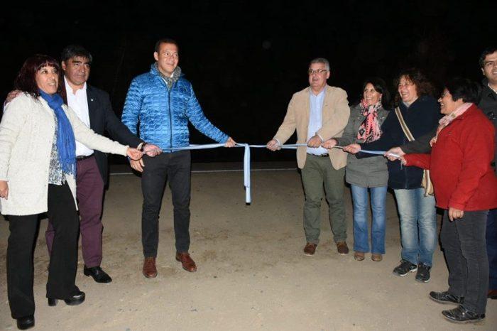 Inauguran más de 2,5km de iluminación sobre la Ruta Nac. N°40