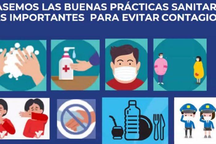 Finalizaron los cursos de Protocolos Sanitarios para la Policía Provincial