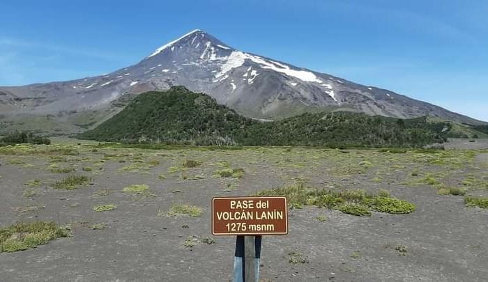 Solicitaran guías habilitados por Parques Nacionales para ascender el Volcán Lanín