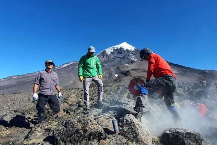 Etapa final para iniciar el monitoreo volcánico del Lanín